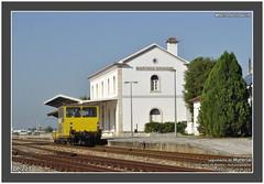 Refer DP 223  95229  Marinha Grande  26.09.2014 (Fernando G. Joaquim) Tags: train diesel via dp works leiria obras comboio oeste refer dresine