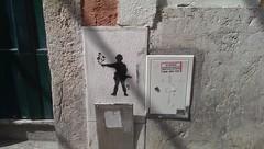 Jasab—3123 (jasab) Tags: flowers streetart portugal soldier stencil lisbon weapon traveling 2014