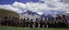 Mountain Belles (Shashanka Nanda) Tags: india dance buddhist culture tradition himachal himalayas spiti namkhan