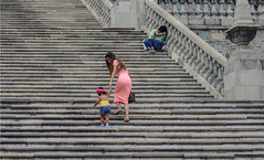 Baby Steps (acase1968) Tags: de lens mexico nikon university steps lovers mexican universidad guanajuato nikkor milf vr afs teenage f4g d600 24120mm