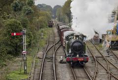 4200 Class no.4270 (alts1985) Tags: autumn train spectacular four great railway class steam line marks western gala mid watercress 4200 hants medstead 261014 no4270