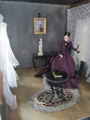 Finished room (Pumpkin Hill Studios/King William Miniatures) Tags: beauty miniatures haunted manor mistress diorama 16scale haunteddolls bespaq16scalebespaq
