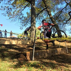 Ryan killing it at #cooperrivercross #weavercycleworks #cyclocross #getdirty