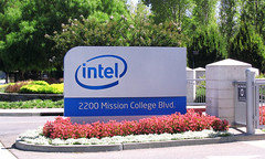 "Intel Campus entrance sign • <a style=""font-size:0.8em;"" href=""http://www.flickr.com/photos/34843984@N07/15522498606/"" target=""_blank"">View on Flickr</a>"