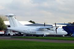 ATR.42 Stobart Air at London Southend Airport. (piktaker) Tags: essex southend sen turboprop atr atr42 atr42300 egmc inflite stobartair londonsouthendairport eiehh airlivery
