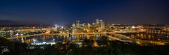 Pittsburgh (Frank Kehren) Tags: panorama skyline night skyscraper canon pittsburgh time pennsylvania 17 f11 alleghenyriver grandviewavenue photospecs tse17mmf4l canoneos1dx