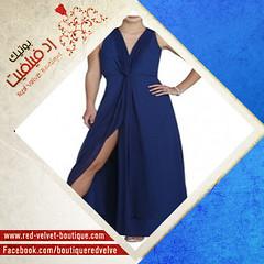 فستان طويل مميز _ رد فيلفيت (red.velvet_boutique) Tags: 2015 طويل فستان مميز موضه
