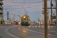 Hiroshima pre-war street car (nakwoodford) Tags: tram hiroshima japanseptember2014