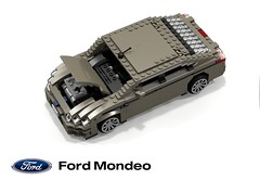 Ford Mondeo Zetec 2.0 EcoBoost GTDi (CD345 - 2014) (lego911) Tags: auto life birthday sky ford car real model lego render company turbo midnight motor hatch 7th challenge 82 cad irl lugnuts hatchback povray mondeo 84 zetec moc ldd miniland liftback ecoboost gtdi lego911 cd345 lugnutsinreallife lugnutsturns7or49indogyears