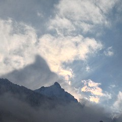 Aiguille du Midi, along with some shadow and cloud porn (eysteina) Tags: tlphriquedelaiguilledumidi