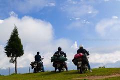 The cloud riders (Navansphotography.com) Tags: travel traveller bikeride bikers beautifulbhutan wondefulsikkim thecloudriders