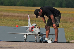 First in Flight RC Jet Rally 2014 - Skyhawk Pit Crew (John. Romero) Tags: radio plane canon airplane photography fly flying photo nc airport control aircraft aviation air rally flight jet first hobby airshow planes carolina wilson remote tamron rc flyin