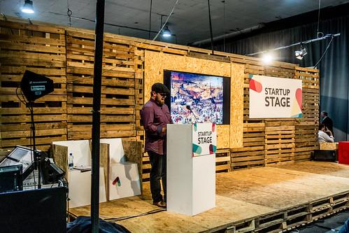 """""""STARTUP STAGE"""" WEB SUMMIT DUBLIN 2014 [DAY THREE] Ref-5085"""