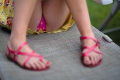 _MG_2695-88 (k.a. gilbert) Tags: feet ass outside outdoors foot backyard toes toe legs sandals nail butt bottom mother naturallight polish fanny bum rump patio hips polkadots thighs bikini booty buns cheeks stems kristen wife handheld upskirt pedicure tush fullframe swimsuit milf manualfocus buttocks bathingsuit maillot strappy calves toenail derriere derrire wideopen gams shortdress manualaperture rokinon85mmf14 canon5dc
