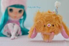 Mohair miniature Teddy Bear.