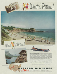 Advert 2e 1024 (Proplinerman) Tags: 1948 aircraft advert douglas airliner mcdonnelldouglas skymaster dc4 c54 propliner