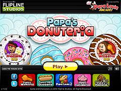 帕帕的甜甜圈店(Papa's Donuteria)