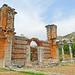 Macedonia, Philippi, remnants of the byzantine basilica, Greece #Μacedonia
