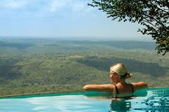 The Infinity View (Hkan F. Randahl) Tags: africa girls woman pool girl female landscape view kenya infinity bikini views infinitypool shimbahills infinityedgepool kutazama