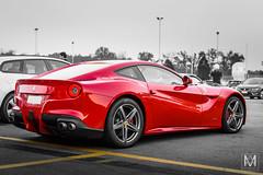 Ferrari F12 (*AM*Photography) Tags: auto red car italian nikon automobile ferrari special exotic gt supercar f12 v12 d3200 worldcar worldcars