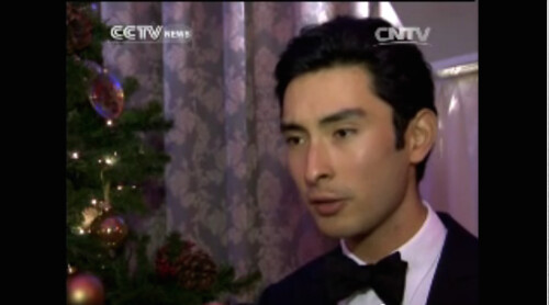Alex in CCTV News (English) Oriental Daily Programme for Chinese New Year Broadcast 2014