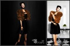 NEW Release This Week @ VoguE! (Zalyn Bailey.) Tags: fashion fur dress mesh silk vogue jacket secondlife gift highendfashion zalynbailey slvogue