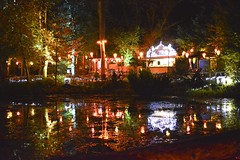 Colourful Reflections (Inner Vision Productions) Tags: light robin night matt photography bright hill inner celebration vision blythe diwali press isle wight