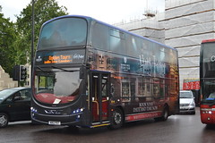 Golden Tours 104 WB12POT (Will Swain) Tags: park city uk travel england west bus buses june corner golden britain south centre capital transport hyde greater tours 104 28th 2014 wb12pot