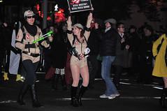 Village Halloween Parade 2014 (zaxouzo) Tags: nyc people night costume colorful village flash parade halloweenparade 2014 nikond90