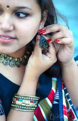 sei meye (bysakalseye) Tags: 50mm indian bangalore sakal bangali meye d7000 swatee