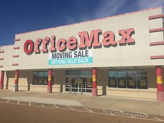 Closing OfficeMax location in Horn Lake, MS (MemphisRetail) Tags: lake signs retail moving office store ms depot horn closing officemax
