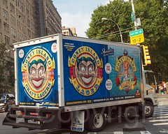 Shmaltz Brewing Coney Island Truck, New York City (jag9889) Tags: nyc newyorkcity usa ny newyork beer car sign brooklyn truck coneyisland unitedstates manhattan unitedstatesofamerica transportation upperwestside vehicle uws 2012 kingscounty jag9889 y2012 20120927