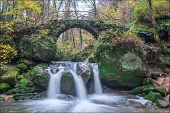 20141107-DSC_3901 (Jan Moons) Tags: bridge autumn fall fairytale forest river waterfall nikon nikkor luxembourg luxemburg enchanted d600 nikond600