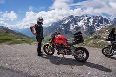 Route des grandes alpes I (rockymotard) Tags: alps monster du routes ducati col 1200s galibier