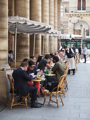 In Paris there is always a Cafe near by!