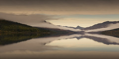 Loch Arkaig  reflections (Richard Hunter ARPS) Tags: