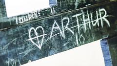 Begin -04- (etsie74) Tags: love beginning begin writing bench green carf