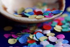 Macro Mondays: Happy 10 Years!!! (margycrane) Tags: macromondays happy10years celebration conffetti