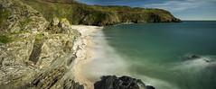 Lantic Bay (jebob) Tags: cornwall jebob england coast water beach rocks sand longexposure tide atlantic lanticbay southwest