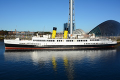 TS Queen Mary  Princes Dock  Glasgow 25-03-17 (MarkP51) Tags: ts queen mary princesdock glasgow scotland preserved clydesteamer ship boat maritime harbour vessel