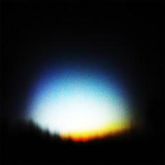 Sundown (rustman) Tags: sunset wanderlustpinwide slit iso3200 grain color saturated nik lookingwest cloudless sky sundown texaslife panasoniclumixgf1 gf1