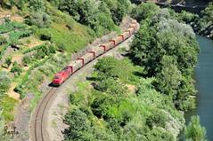 Peares (***REGFA***) Tags: takar comsa adif miño madera lugo ceibi soporcel comboio train madeira eucalipto