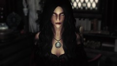 Mary (Snow.Whiite) Tags: skyrim screenshot skyrimmods posesmods poses pose tesv mods dress games elderscrolls mary female face