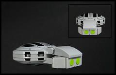 Turtleship (Karf Oohlu) Tags: lego moc microscale microspacetopia turtleship commercialship