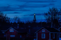 Lighthouse (@Tuomo) Tags: ohtakari finland lohtaja ostrobothnia spring evening lighthouse blue olympus em1mkii 75mm18