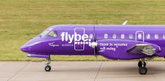 G-LGNK SAAB340, Edinburgh (wwshack) Tags: edi egph edinburgh edinburghairport flybe loganair saab340 scotland turnhouse glgnk