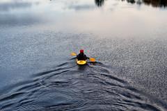 Canoer (Hattifnattar) Tags: ireland castlebar loughlannagh canoe canoeing pentax fa77mm limited lake water
