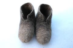 2017.03.10. hahtuvatossut 2962m (villanne123) Tags: 2017 hahtuvatossut slippers tossut huovutettu felted knitting neulottu neulotut finnwool villanne villasukat socks sukat