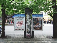 2017-04-16 Telephone booth, Prague (PragueWalker) Tags: prague walking tours praguephotos прага privateguides trip prag photos photo praha tschechien czechrepublic чехия tourists tourist tourism street 2017 praag václavskénáměstí вацлавскаяплощадь koňskýtrh wenceslassquare wenzelsplatz piazzasanvenceslao placevenceslas