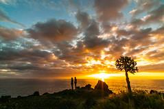 Sunset in Puerto Nao (Vladi Stoimenov) Tags: canaryislands lapalma puertonaos spain beach sunset canary ocean water sun colors tokina
